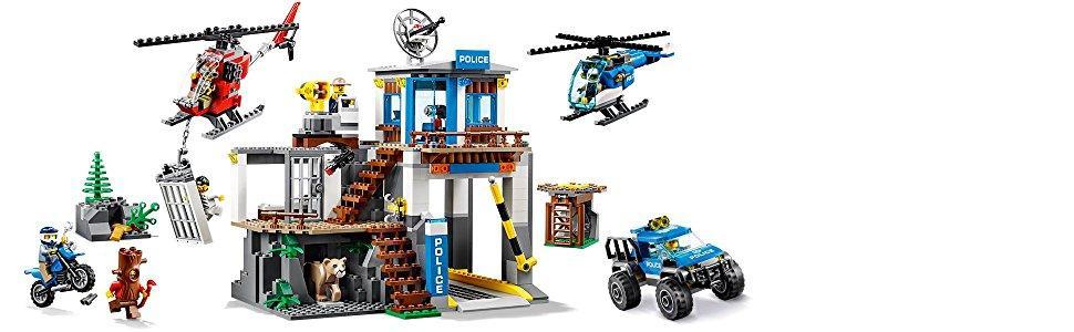 LEGO City Police - Montaña: Comisaria Policía, Set de