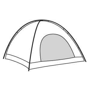 camp, bugs, tent, DIY