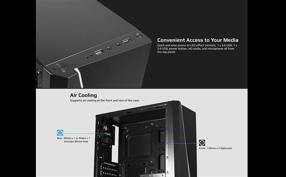 Cylon Mini Access and Air Cooling