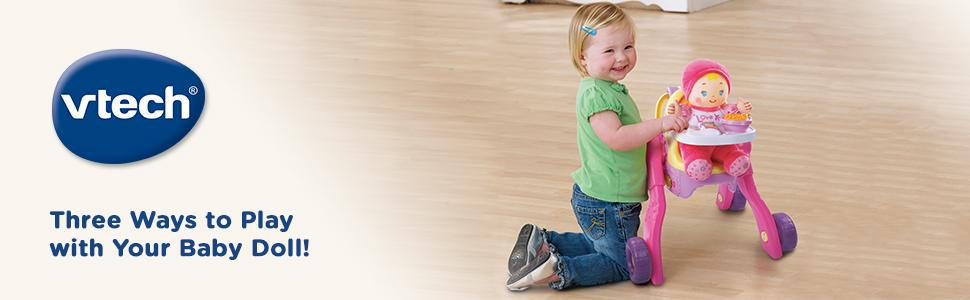 Amazon Com Vtech Baby Amaze 3 In 1 Care Amp Learn Stroller