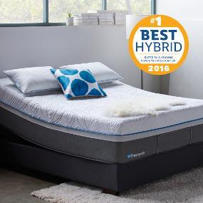 sealy posturepedic hybrid copper cushion firm mattress full kitchen dining. Black Bedroom Furniture Sets. Home Design Ideas