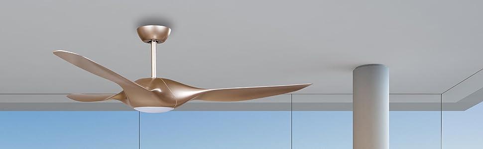 Sulion Elegance Ventilador de Techo, Blanco: Amazon.es ...