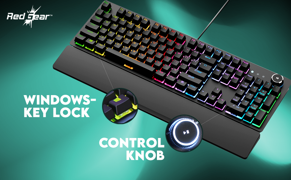 keyboard with support