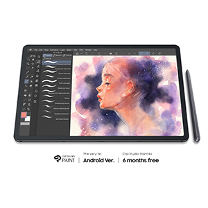 Ready for your masterpiece with Clip Studio Paint