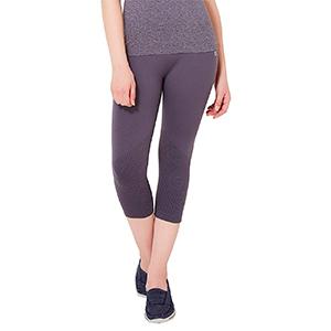 57f06b8101265 Amante Women's Capri (ABT17103_Dark Grey_Small): Amazon.in: Clothing ...