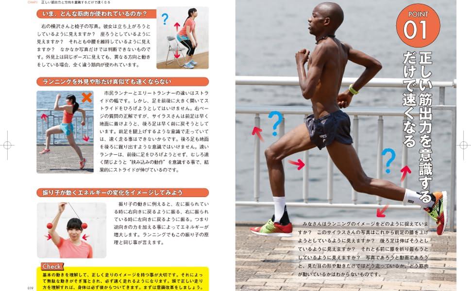 みやすのんき マラソンフォーム 01 正しい筋出力