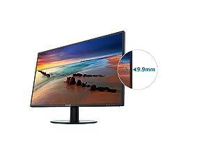 Viewsonic Va2719 2k Smhd 68 6 Cm Monitor Schwarz Computer Zubehör