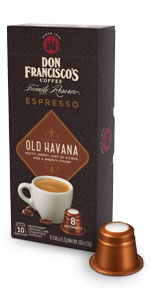 ... don francisco espresso capsules old havana ...