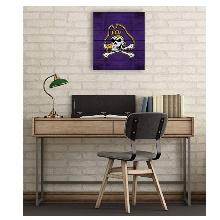 East Carolina Pirates Pallet Pride Collage Logo Plaque