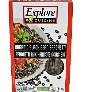 Explore Cuisine Black Bean Spaghetti 6 Count Amazonca Grocery