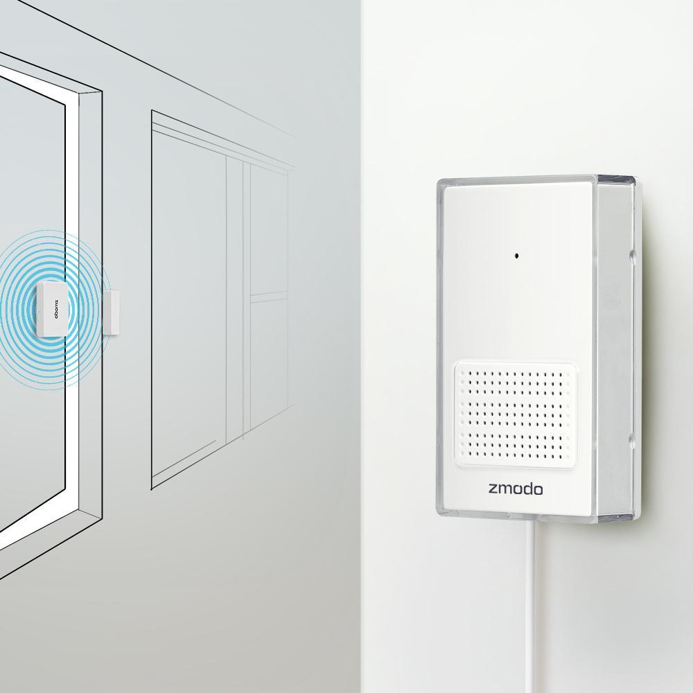 Zmodo Greet Universal Smart Video Doorbell Door Chime With