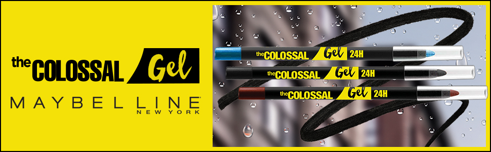 colossal, colossal gel, colossal gel 24h, gel maybelline, colossal maybelline