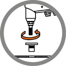 Meister Blindnietzangen Set 13 Teilig Mit Dual Funktion Für Blindnieten Nietmuttern Stahl Alunieten Nietenzange Mit Auswechselbaren Mundstücken Nietwerkzeug Mit 4 Einstellbaren Größen Baumarkt