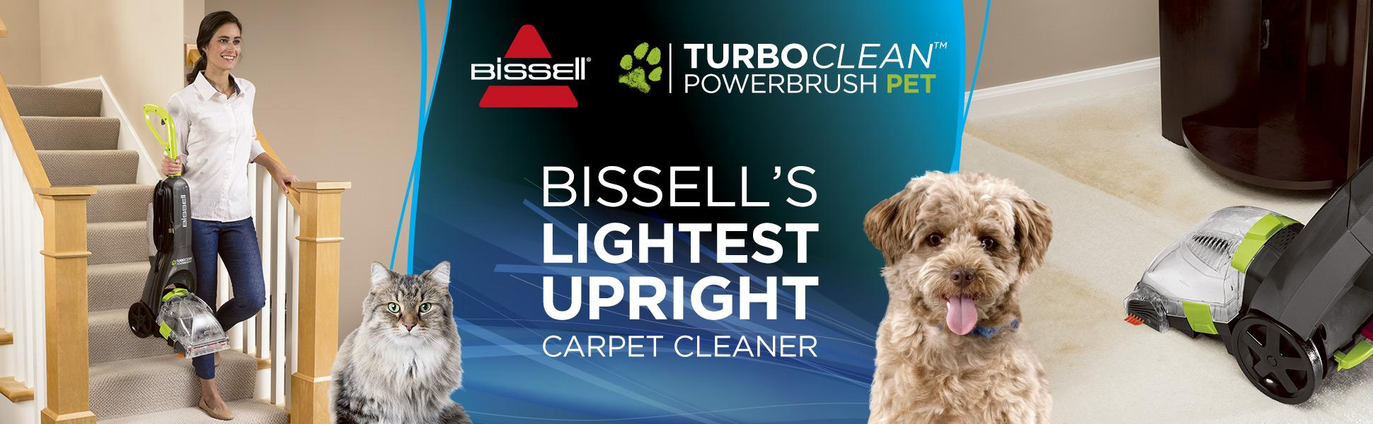 Amazon Com Bissell Turboclean Powerbrush Pet Upright
