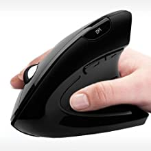 Replacement for PARTS-IMOUSEV10 Adesso 2.4GHZ Wireless Vertical Ergonomic Mini Mouse Adjustable 3 Level DPI PL