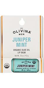 Lip balm juniper mint