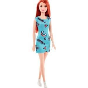Barbie Muñeca Chic pelirroja vestido azul