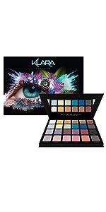 Klara Cosmetics Ibiza 24 eyeshadow palette