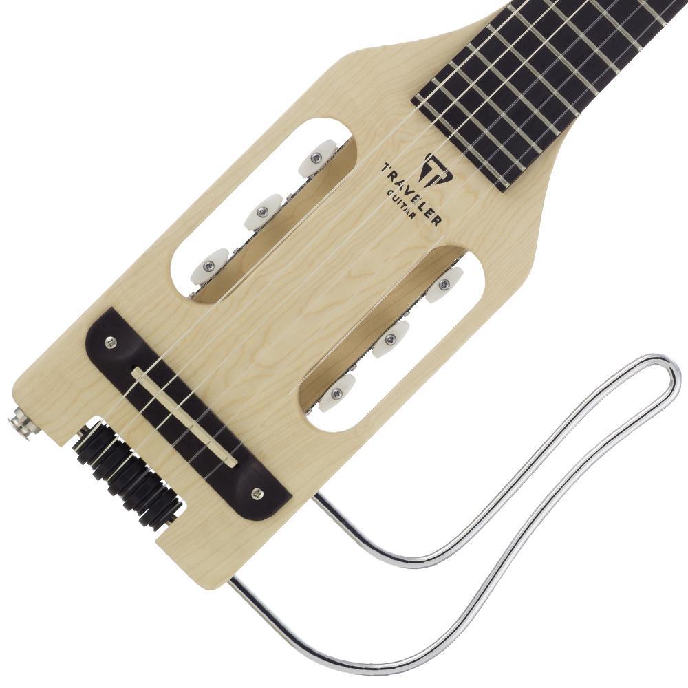traveler ultra light nylon guitar with gig bag musical instruments. Black Bedroom Furniture Sets. Home Design Ideas