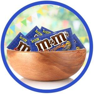 Mamp;M'S Fun Size Packs make filling your candy dish easy with yummy caramel flavors.