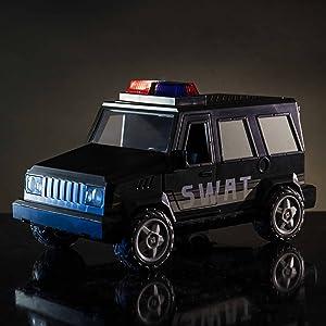 Roblox Toys Jailbreak Swat Unit Series 4 Amazon Com Roblox Action Collection Jailbreak Swat Unit Vehicle Includes Exclusive Virtual Item Toys Games