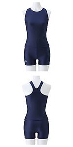 Speedo(スピード) スクール水着 女の子 ジュニア セパレーツ プール 水泳 フィットネス SD36S41