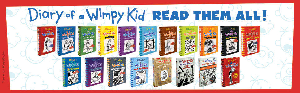Read all of the books in the Diary of a Wimpy Kid series!