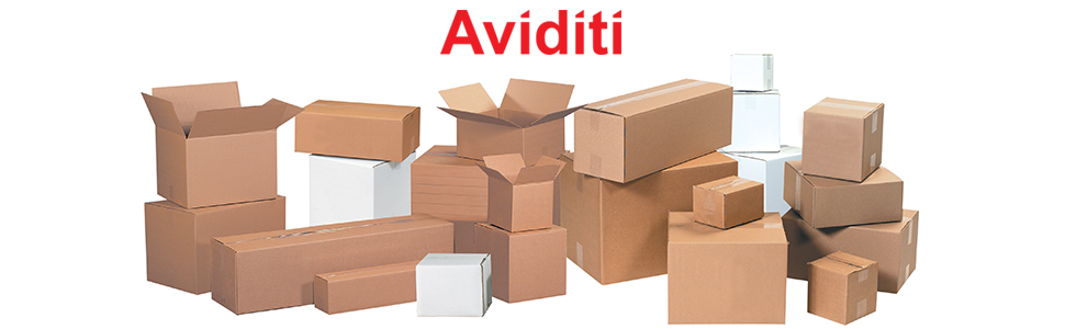 Boxes for shipping, mailing, packing and moving