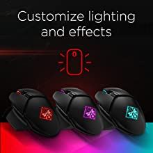 OMEN by HP Photon Wireless Mouse Custom RGB Lighting