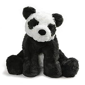 "GUND Cozys Collection Panda Bear Plush Stuffed Animal, Black and White, 10"""