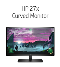 HP-27x Curved-Monitor