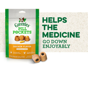 Helps the Medicine Go Down Enjoyably, Greenies Pill Pockets, Pill Pouches for Dogs