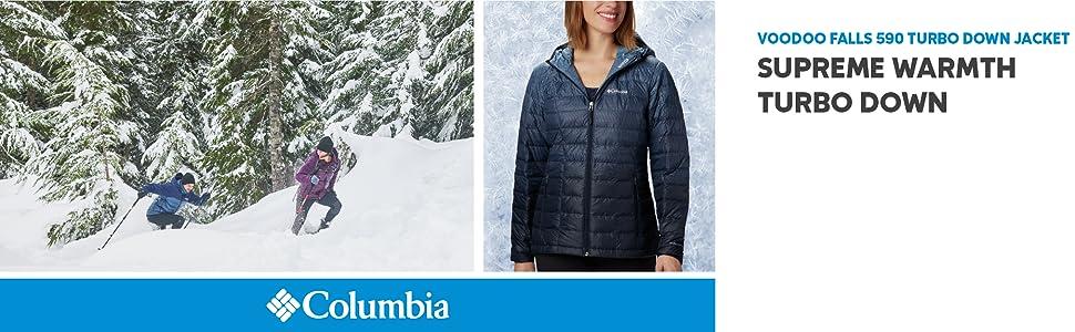Columbia Women's Voodoo Falls 590 Turbo Down HDD Winter Jacket