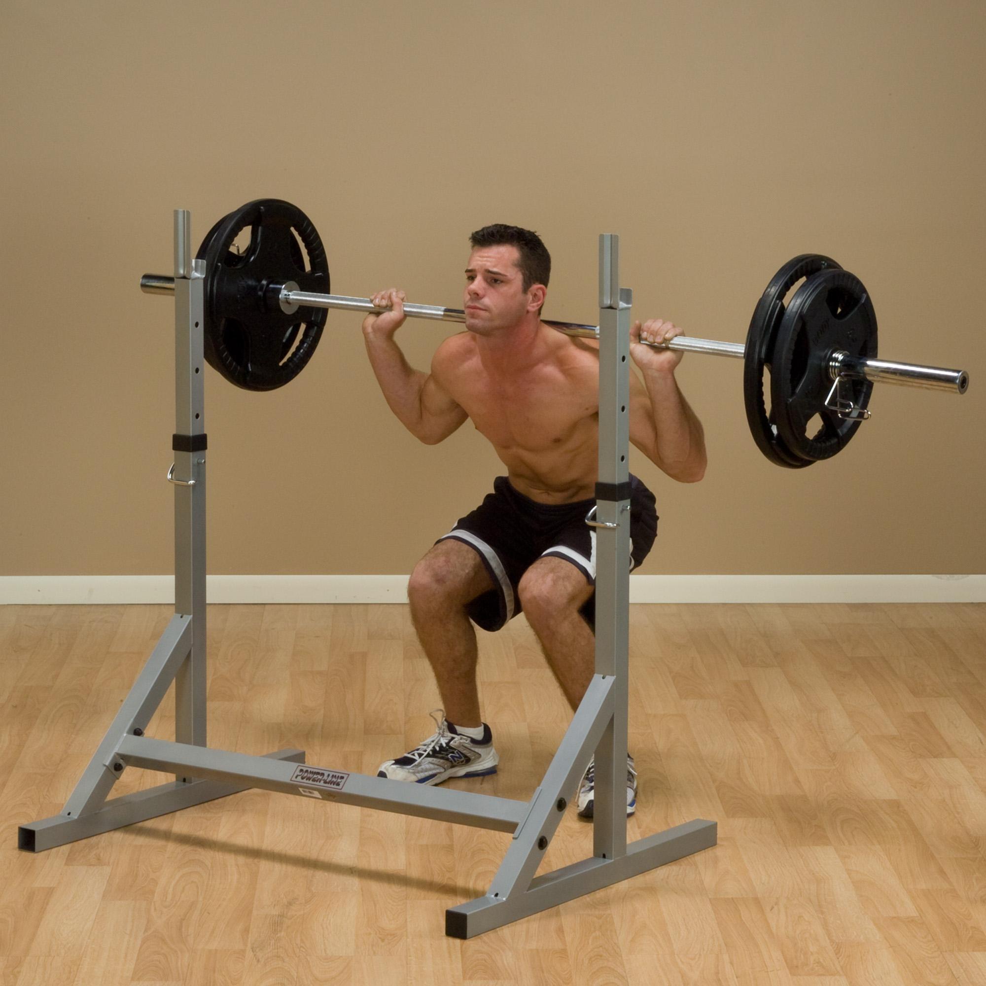 Bowflex Revolution Folded Up Dimensions: PowerLine PSS60X Squat Rack, Home Gyms