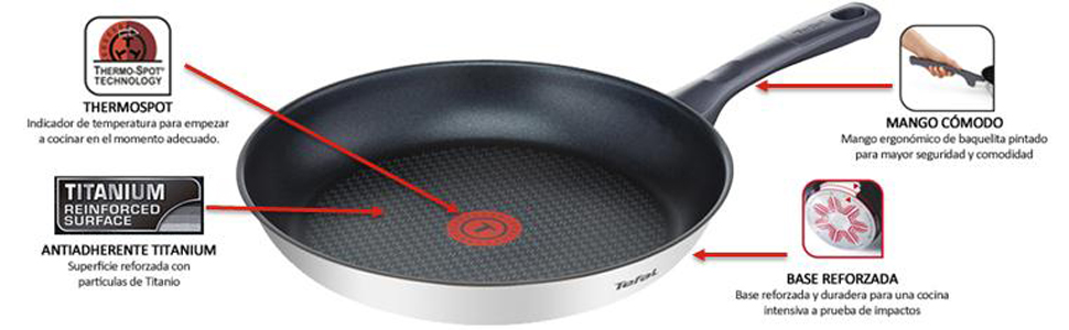 sartenes daily cook tefal
