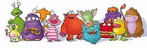 Monster-Illustration Family