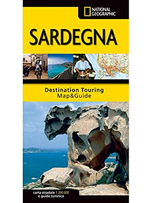 Sardegna - Carta Stradale e Guida Turistica