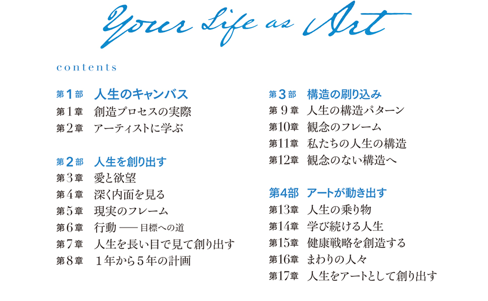 Your Life as Art