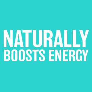 Naturally boosts energy