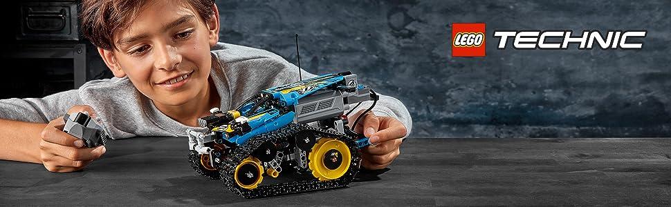 remoto-control-acrobático-deportivo-orugas-deportivo-reconstruir-lego-technic-42095-avanzado-motores