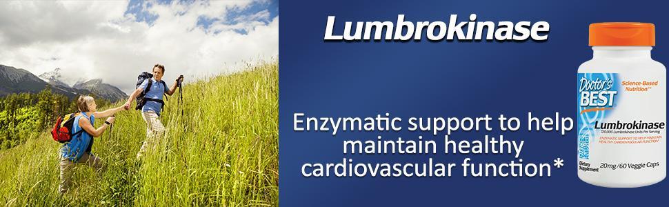Doctor's Best Lumbrokinase 20 mg, 60 Veggie Caps