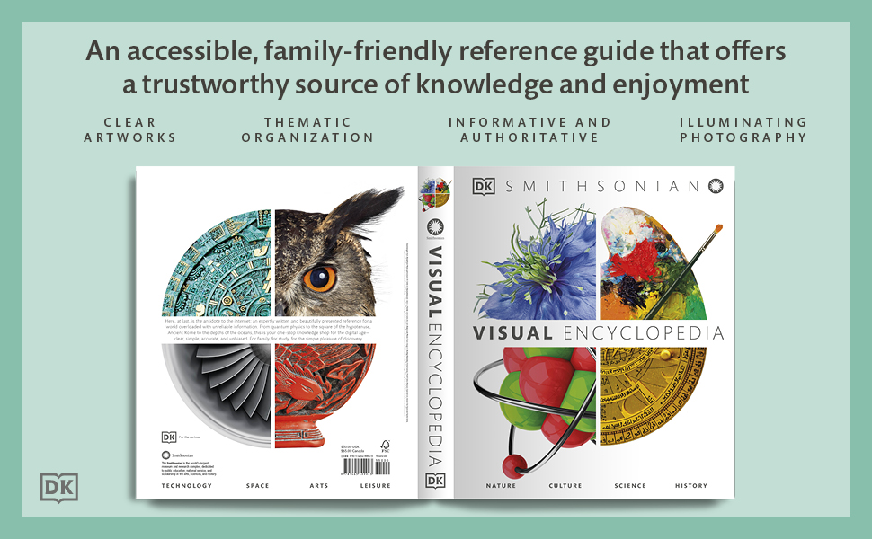 visual encyclopedia, reference guide, knowledge