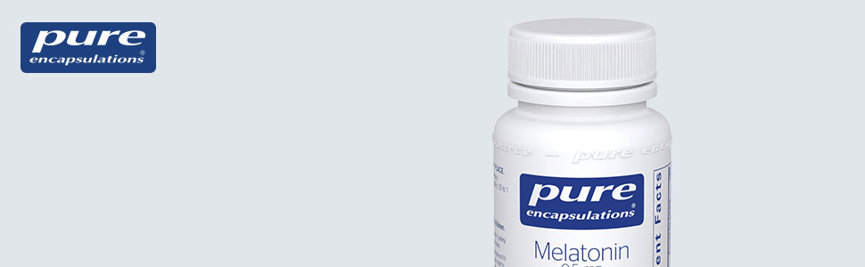 Pure Encapsulations - Melatonin 0.5 mg - Supports the Bodys Natural Sleep Cycle* - 60