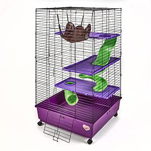 kaytee, multi level habitat, multi level cage