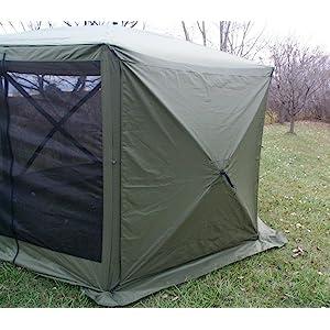 screen shelter wind panels