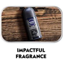 A bottle of Nivea Deep Impact Roll On