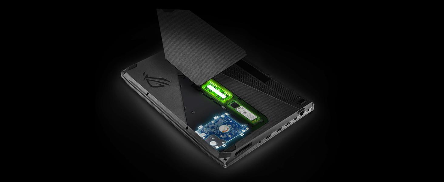 Asus Rog Strix Thin Light Gaming Laptop 156 Full Hd Gl503vm Fy916t Easily Upgradeable