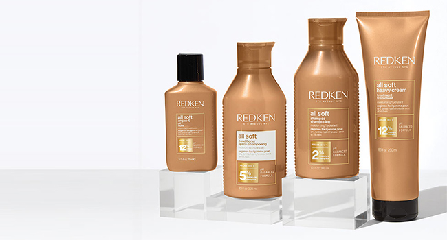 redken all soft conditioner, shampoo, treatments, dry hair