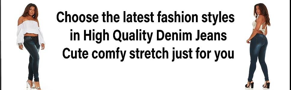Dark Skinny jeans for women