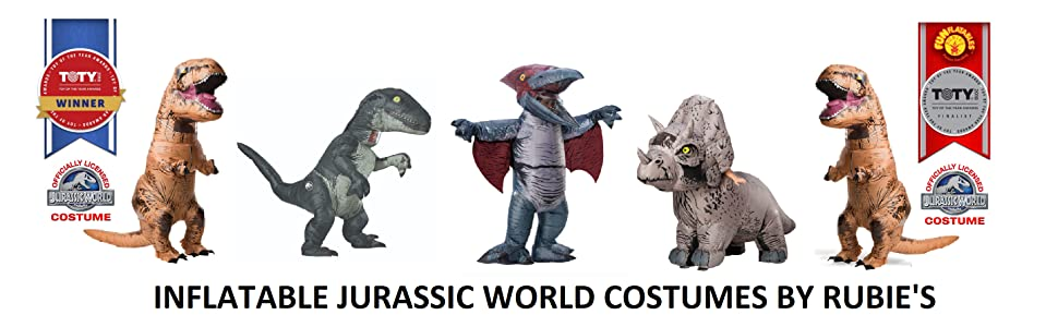 Rubie's inflatable jurassic world costume